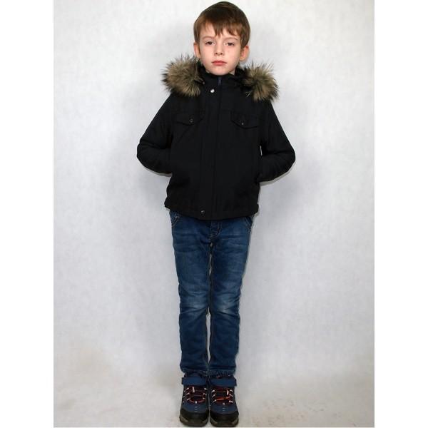 Детская куртка синяя с тосканой