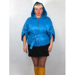 Куртка женская голубая